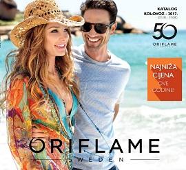 Oriflame katalog kolovoz