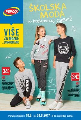 Pepco katalog Školska moda