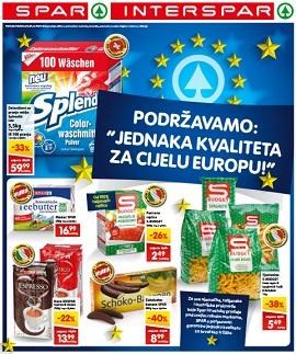 Interspar i Spar katalog jednaka kvaliteta za cijelu Europu