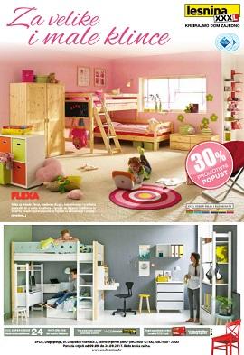 Lesnina katalog dječje sobe