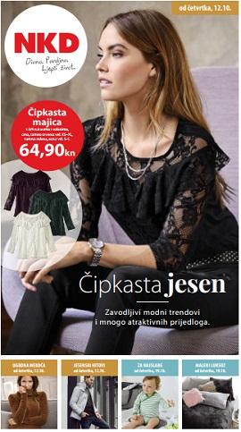 NKD katalog Čipkasta jesen