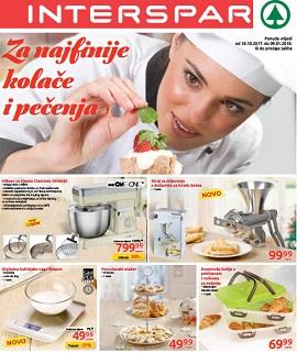 Interspar katalog Sve za kolače i pečenja