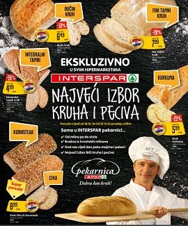 Interspar katalog Kruh i peciva