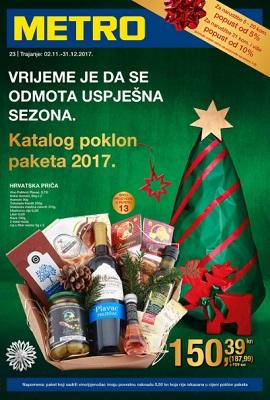 Metro katalog poklon paketa