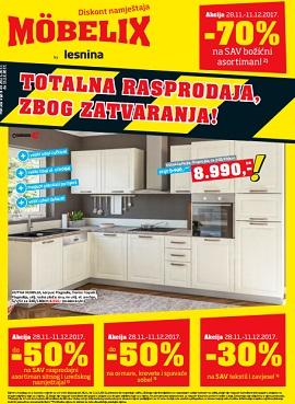 Mobelix katalog Totalna rasprodaja zbog zatvaranja