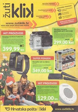 Žuti Klik katalog Božićni pokloni