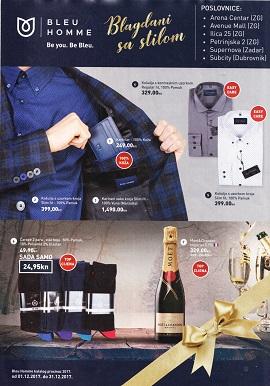 Bleu Homme katalog Blagdni sa stilom