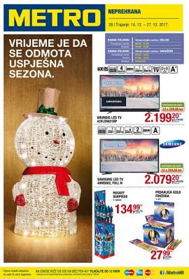 Metro katalog neprehrana Varaždin Osijek
