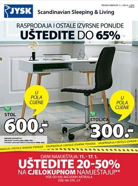 JYSK katalog Sniženje