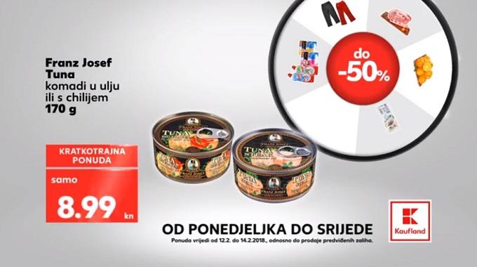 kaufland akcija tuna konzerva