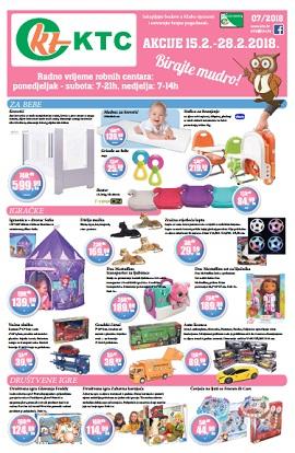 KTC katalog Bebe, igračke i tekstil