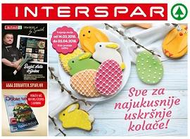 Interspar katalog Sve za uskršnje kolače