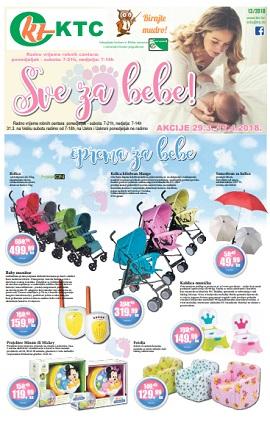 KTC katalog Sve za bebe