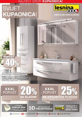 Lesnina katalog Svijet kupaonica