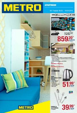 Metro katalog Apartmani