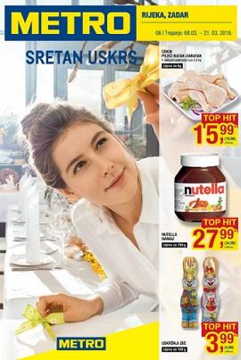Metro katalog prehrana Rijeka Zadar