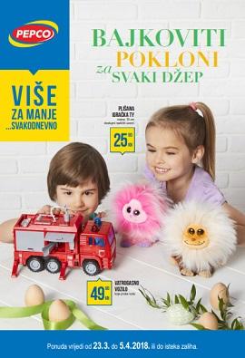 Pepco katalog Bajkoviti pokloni