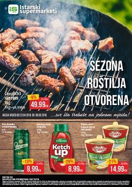 Istarski supermarket katalog