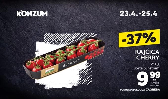 Konzum akcija rajčica cherry