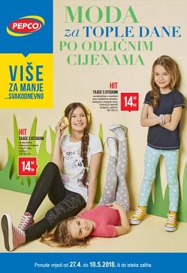 Pepco katalog Moda za tople dane