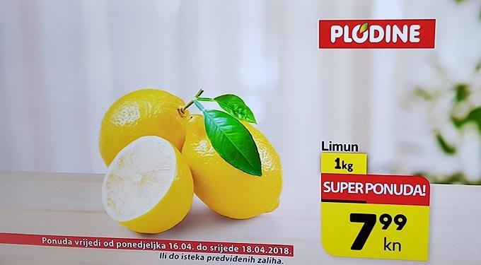 Plodine akcija limun