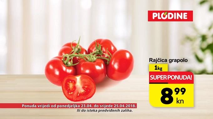 Plodine akcija rajčica grapolo