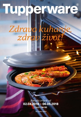 Tupperware katalog Zdravo kuhanje zdrav život