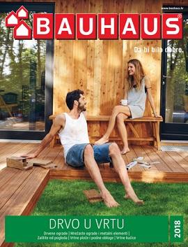 Bauhaus katalog Drvo u vrtu