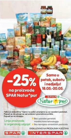 Interspar akcija Natur pur