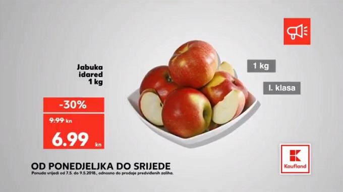Kaufland akcija jabuka