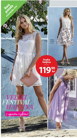 NKD katalog Veliki festival haljina