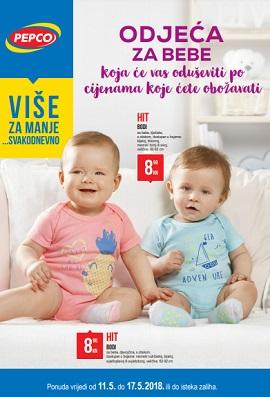 Pepco katalog Odjeća za bebe