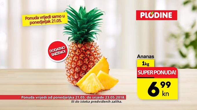 Plodine akcija ananas
