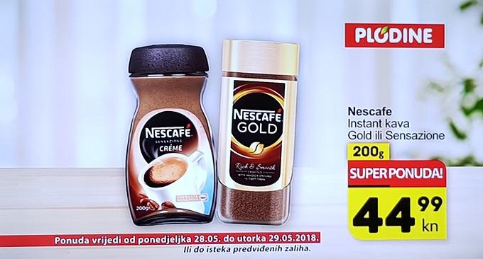 Plodine akcija Nescafe