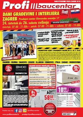 Profi Baucentar katalog Dani građevine