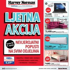 Harvey Norman katalog Ljetna akcija