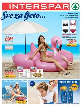 Interspar katalog Sve za ljeto