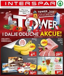 Interspar katalog Tower centar Rijeka