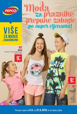 Pepco katalog Moda za praznike