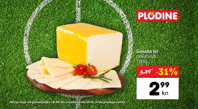 Plodine akcija gouda sir