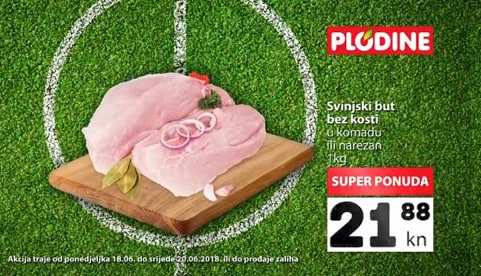 Plodine akcija svinjski but
