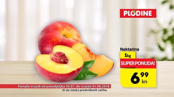 Plodine akcija nektarina