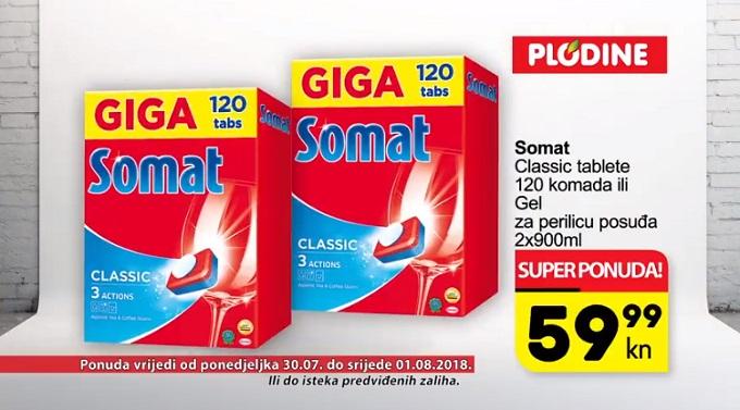 Plodine akcija Somat tablete