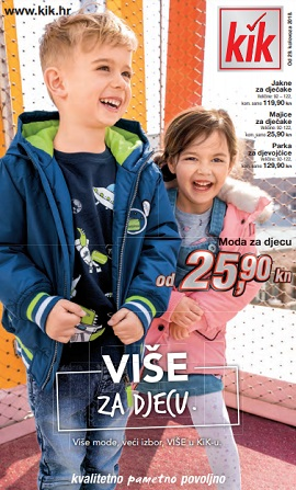 KiK katalog Više za djecu