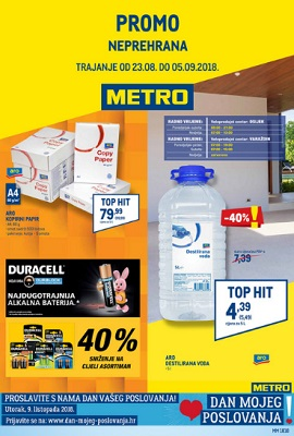 Metro katalog neprehrana Osijek Varaždin