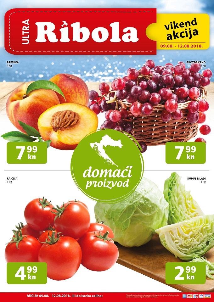 Ribola vikend akcija voće povrće