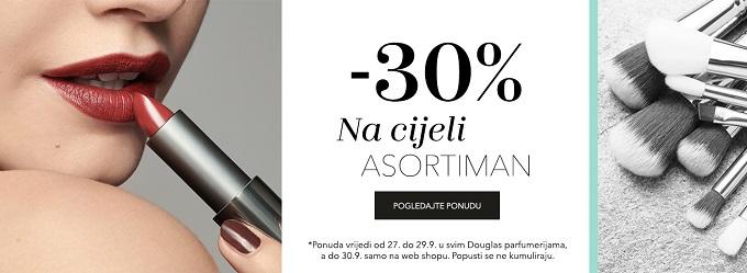 Douglas akcija -30% na sve