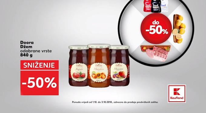 Kaufland akcija džem