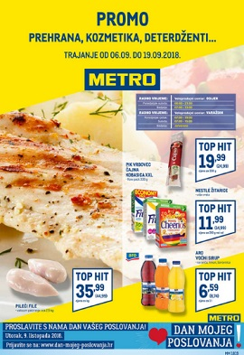 Metro katalog prehrana Osijek Varaždin