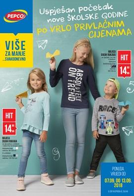Pepco katalog Uspješan početak školske godine